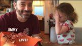 Jimmy Kimmel Казва му дъщеря Той изяде всичките й Хелоуин Candy