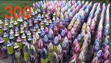 Partiendo 300 Rockets DE UNA VEZ