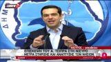 Hur mötte Tsipras glödande