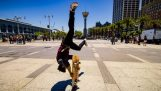 Skateboard Parkour i 8k – Streets of San Francisco!