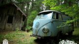 RESURRECTION – Rescue of a VW 1955 panelvan – Forest find !